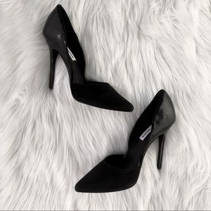 Steve Madden Vessa D'Orsay Pumps in Black | EUC